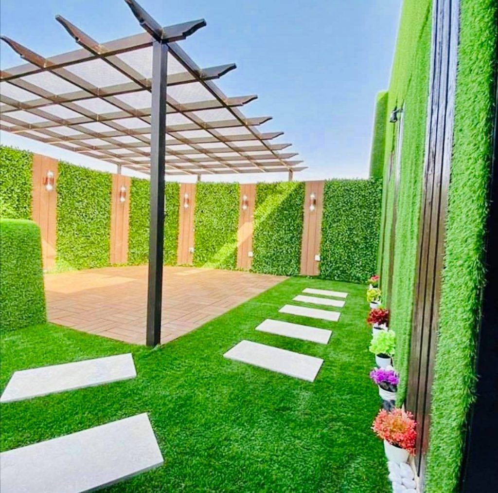 أفكار تنسيق حدائق