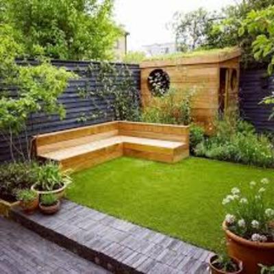 تنسيق حدائق خارجية
